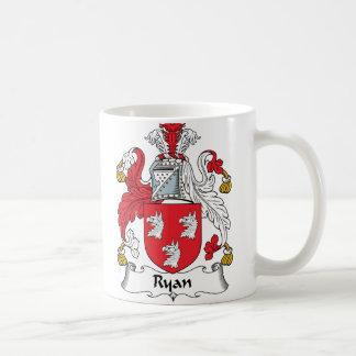 Mug Crête de famille de Ryan