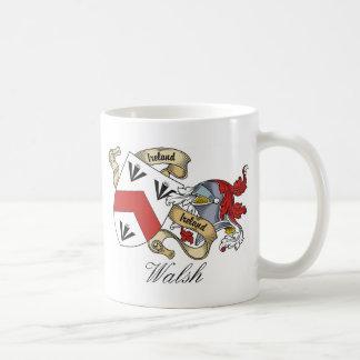 Mug Crête de famille de Walsh