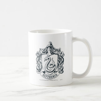 Mug Crête de Harry Potter | Slytherin - noire et