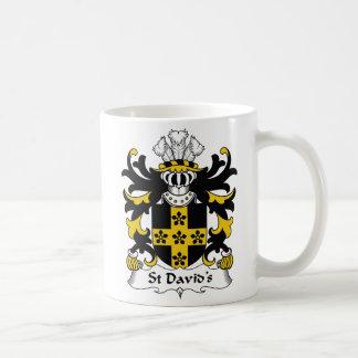 Mug Crête de la famille de St David