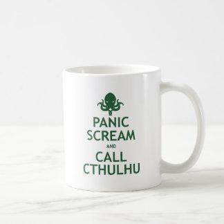 Mug Cri perçant et appel Cthulhu de panique