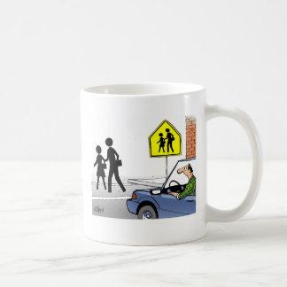 Mug Croisement d'école