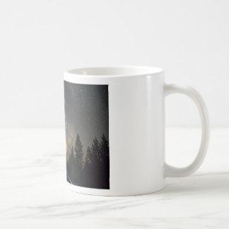 Mug Croisière de nuit de manière laiteuse de chemin
