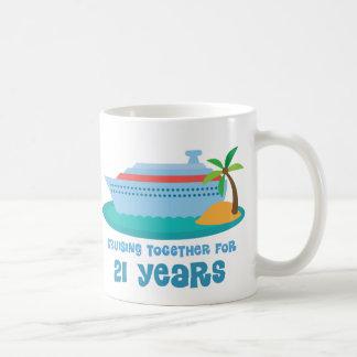Mug Croisière ensemble pendant 21 années de cadeau