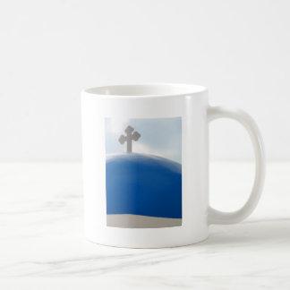 Mug Croix de Santorini pendant l'après-midi Sun