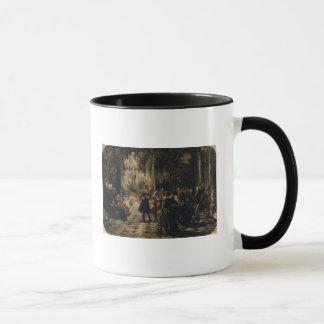 Mug Croquis pour le concert de cannelure, 1852