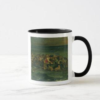 Mug Croquis pour le naufrage de Don Juan, 1839 (voir