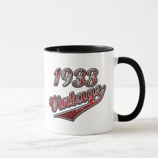 Mug Cru 1933