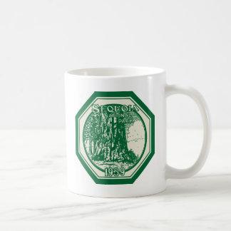 Mug Cru 1939 de parc national de séquoia