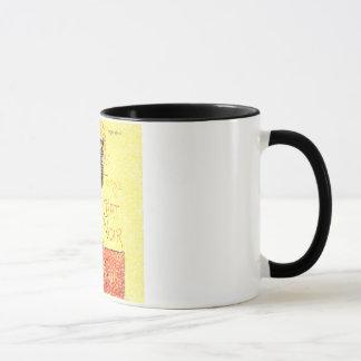 Mug Cru de chat noir