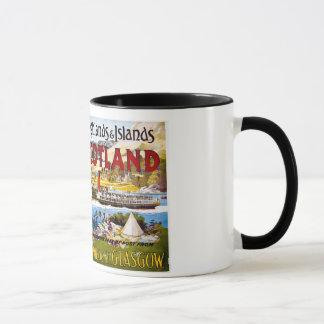Mug Cru de Glasgow de vapeurs de Royal Mail