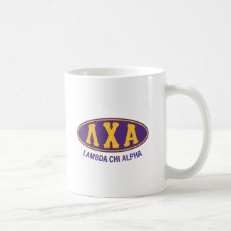 Mug Cru de l'alpha | de Chi de lambda