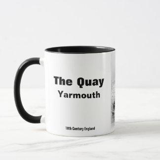 Mug Cru Quay Yarmouth Norfolk Angleterre