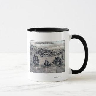 Mug CuracaoPanoramic MapCuracao, Pays-Bas