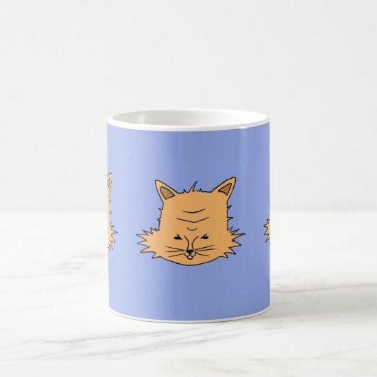 Mug Cute Cat Head