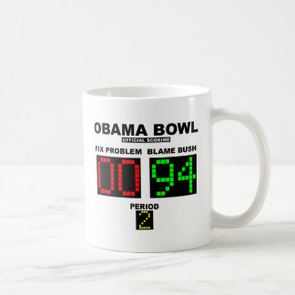 Mug Cuvette d'Obama - marquage officiel