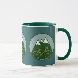 Mug cyclistes aventure, montagnes