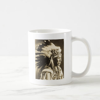 Mug Cygne blanc en chef de Lakota Sioux