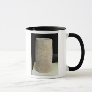 Mug Cylindre B avec une inscription votive