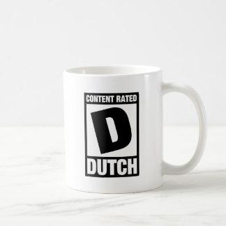 Mug D évalué : Néerlandais