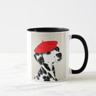 Mug Dalmate avec le béret rouge
