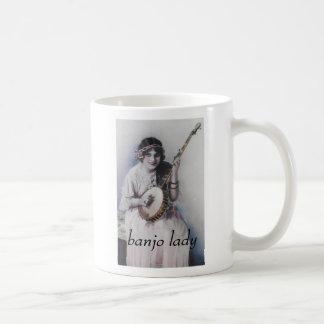 Mug dame de banjo