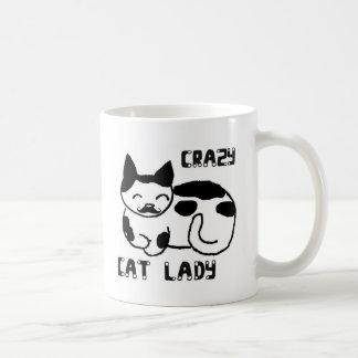 Mug Dame folle de chat