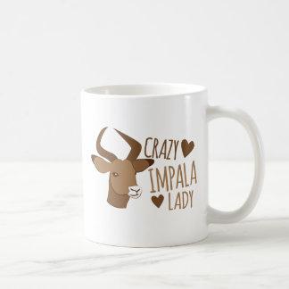 Mug dame folle d'impala