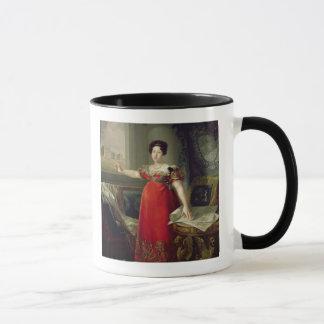 Mug Dame Maria Isabel de Braganza, 1829 de la Reine