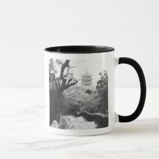 Mug Danang Vietnam, montagne de marbre de vue de
