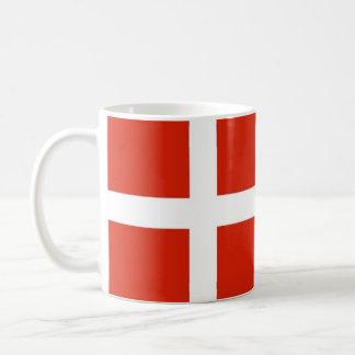 Mug Dannebrog ; Le drapeau officiel du Danemark