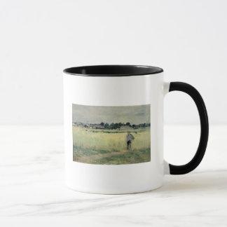 Mug Dans le Wheatfield chez Gennevilliers, 1875