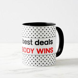 Mug Dans les meilleures affaires tout le monde gagne