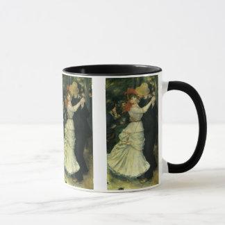 Mug Danse chez Bougival par Pierre Renoir, art vintage