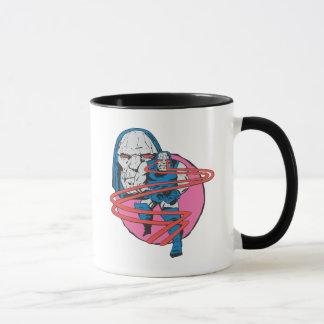 Mug Darkseid tire des faisceaux d'Omega