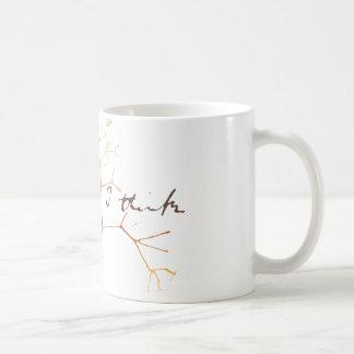 Mug Darwin, je pense l'arbre à la vie