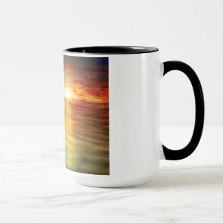 Mug Dauphin de Celtic de coucher du soleil