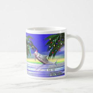 Mug Dauphin de Noël