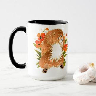 Mug De BINDI MINGSIE de bouffe de tasse-message dos