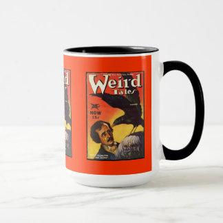 Mug De couverture étrange de contes d'Edgar Allan Poe