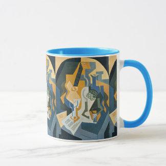 Mug De Juan Gris toujours la vie avec le plat et la