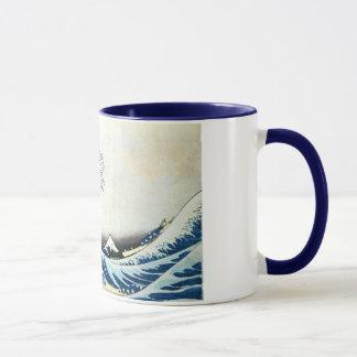 """Mug """"De la grande peinture japonaise vague"""" par"""