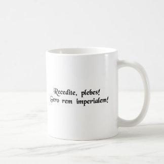Mug De support plebians de côté ! Je fais des affaires