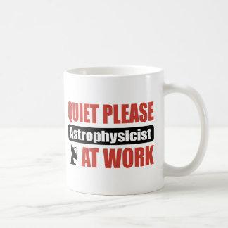 Mug De tranquillité astrophysicien svp au travail