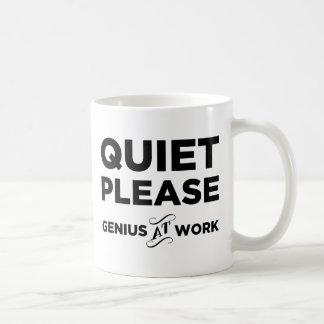 Mug De tranquillité génie svp au travail