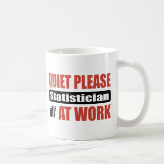 Mug De tranquillité statisticien svp au travail