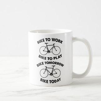 Mug De vélo recyclage frais pour toujours -