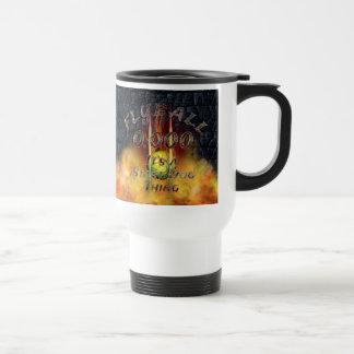 Mug De Voyage 0,000 Flyball Flamz : C'est une chose de chien de
