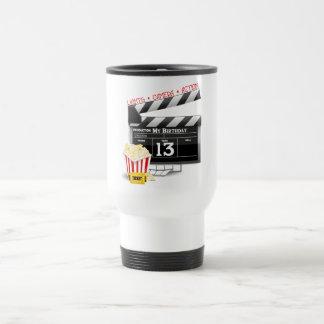 Mug De Voyage 13ème Partie de film d'anniversaire