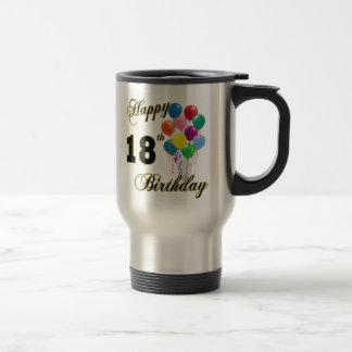 Mug De Voyage 18èmes cadeaux d'anniversaire heureux